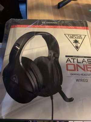 Turtle beach atlas one headset for Sale in Paramount, CA