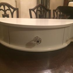 White Shelf with Drawer for Sale in Frederick,  MD