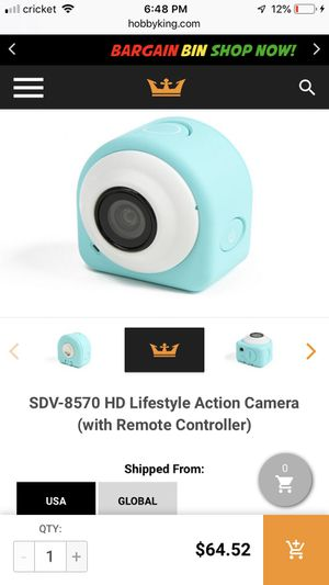 HD lifestyle action camera PINK new for Sale in Gardena, CA