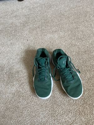 Nike green basketball shoes for Sale in Redmond, WA