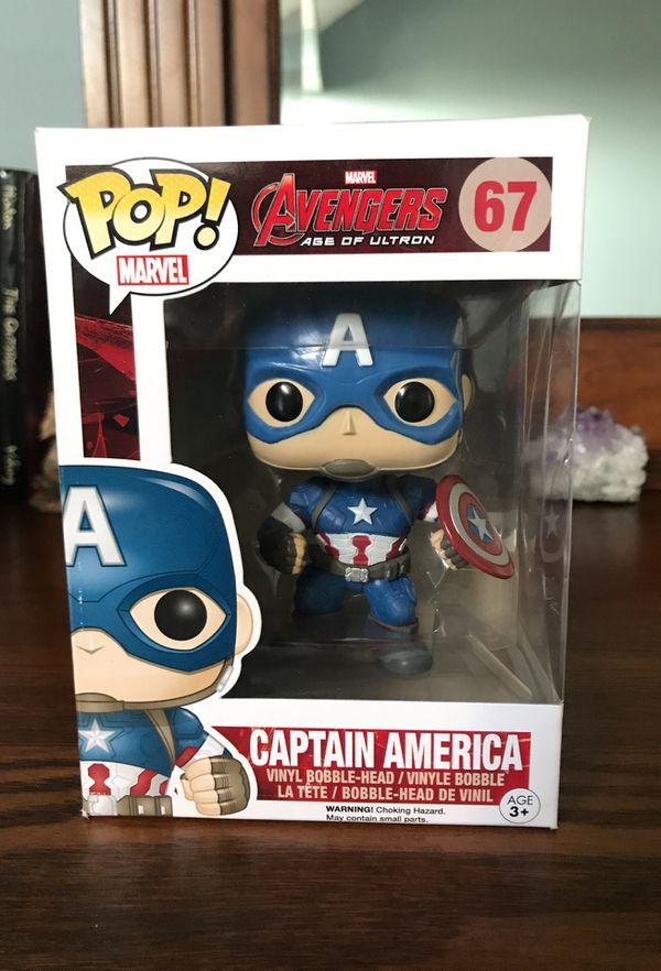 Pop captain America