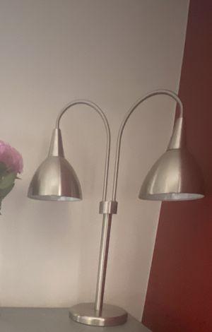 "24"" Silver desk lamp for Sale in Fort Lee, NJ"