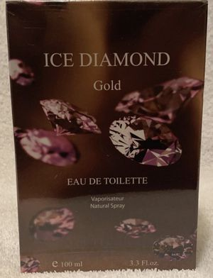 Women's ICE DIAMOND GOLD Eau de Toilette EDT France/French Perfume Spray 3.3/3.4 oz NEW NIB for Sale in San Diego, CA