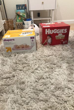 Newborn diapers for Sale in Watsonville, CA