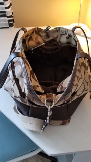 Coach Carry/tote bag or Diaper bag $75.00 for Sale in Austell, GA