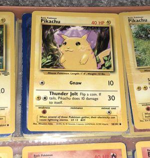 Pokemon First Edition Base Set Pikachu for Sale in Fairfax, VA