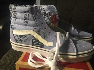 Vans sz 6 old school womens/girls for Sale in Long Beach, CA