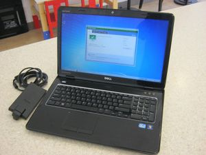 Dell laptop 17R N7110 i3 DVD/RW 120GB SSD 8GB RAM. Premium Sound. Everything looks and works great! Open to trades or cash. for Sale in Lakeland, FL