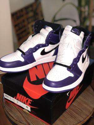 Jordan 1's Court Purple for Sale in Wynnewood, PA