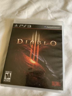 Diablo ps3 game for Sale in Chino, CA