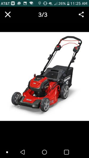 Snapper Electric 60V lawn mower. Used for Sale in Suitland, MD