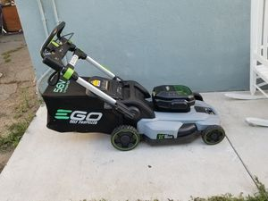Ego power electric lawn mower for Sale in Ontario, CA