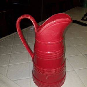 Red Pitcher Or Flower Vase for Sale in Fontana, CA