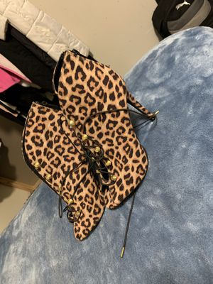 Leopard heels for Sale in Chillum, MD