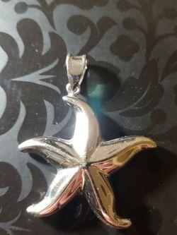 Sea Star Sterling Silver Pendant for Sale in Tacoma,  WA