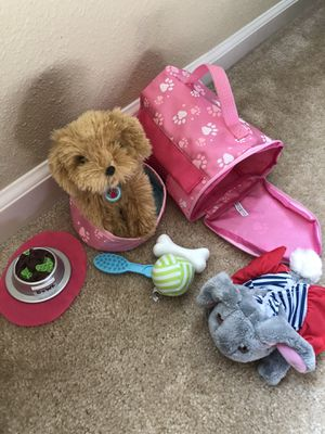 dog and bunny toy set for Sale in Vacaville, CA
