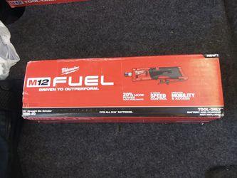 Milwaukee M12 Fuel Die Grinder  for Sale in Spokane, WA