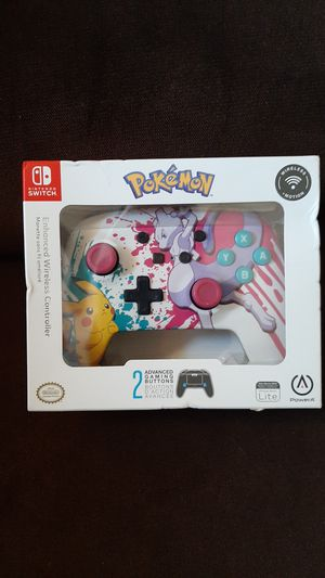 Nintendo switch enhanced wireless controller for Sale in Highland, CA