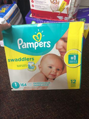 Pampers diapers size 1((164)) for Sale in Mesquite, TX
