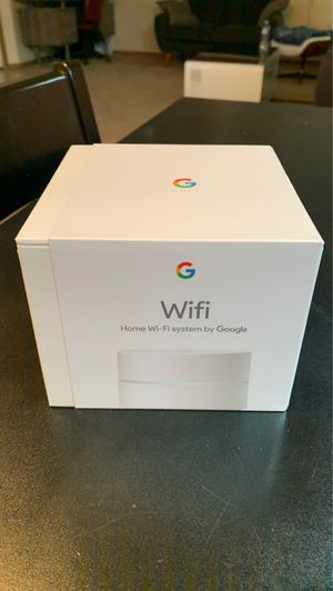 Google WiFi Router AC 1200 Brand New $75 for Sale in Spanaway, WA