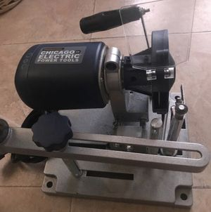 Chicago electric power tools circle saw blade sharpener for Sale in Riverside, CA