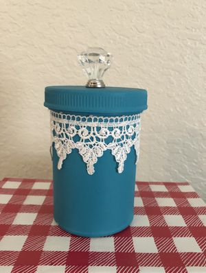 Handmade Repurposed Trinket Container for Sale in Lakeland, FL