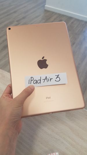 Apple iPad Air 3 LTE + WIFI 256GB for Sale in Renton, WA
