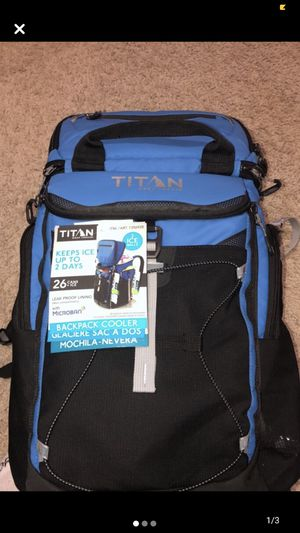 Titan backpack cooler for Sale in Dundee, MI