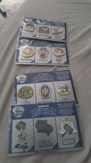 Disney 30th anniversary pin sets...new for Sale in Hacienda Heights, CA