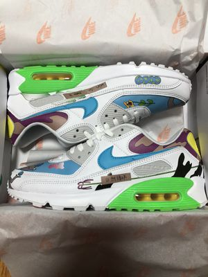 Nike Air Max 90 Flyleather Ruohan Wang. Size 11.5M. Brand new. Deadstock. (PAYPAL ONLY) for Sale in Queens, NY
