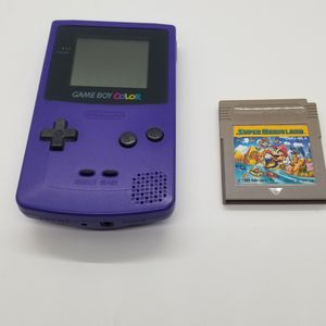 Nintendo Gameboy Color w. Super Mario Land for Sale in The Bronx, NY