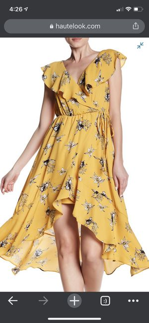 Yellow floral mini dress for Sale in Fremont, CA