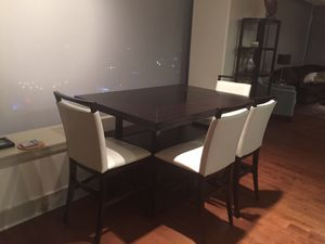 Dining Table, 6 Chairs and Side Cabinet for Sale in Loma Linda, CA