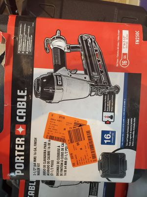 Porter Cable 16g nail gun 45$ for Sale in Fort Worth, TX