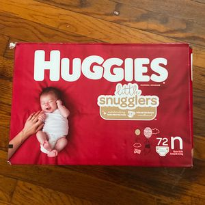 Huggies Newborn diapers 72 Count (Madera Area) for Sale in Madera, CA