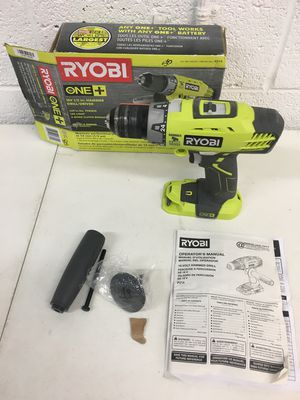 Ryobi 18 Volt 1/2 in. Hammer Drill Driver Tool Only for Sale in Gilbert, AZ