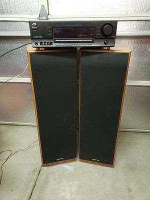 JVC Audio /Video Receiver and pair of ONKYO Speakers for Sale in Mesa, AZ