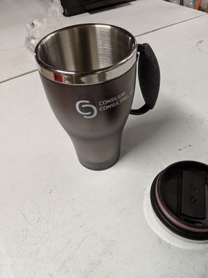 Stainless Steel Coffee Cup - Brand New - Never Used for Sale in Fairfax, VA