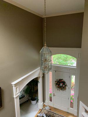 Entryway chandelier for Sale in West Linn, OR