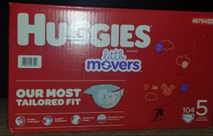 Huggies Little Movers size 5 for Sale in Glendora, CA