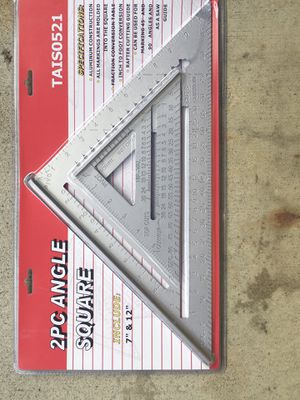 """2PC ANGLE SQUARE 12"""" and 7"""" for Sale in Fremont, CA"""