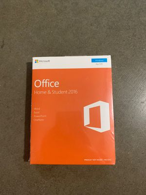 Microsoft Office Home & Student 2016 Windows 1 Pc - Sealed for Sale in Walnut, CA
