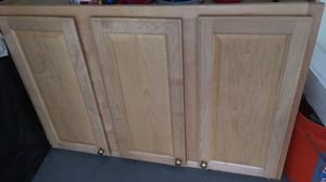 Maple cabinet for Sale in Whitsett, NC