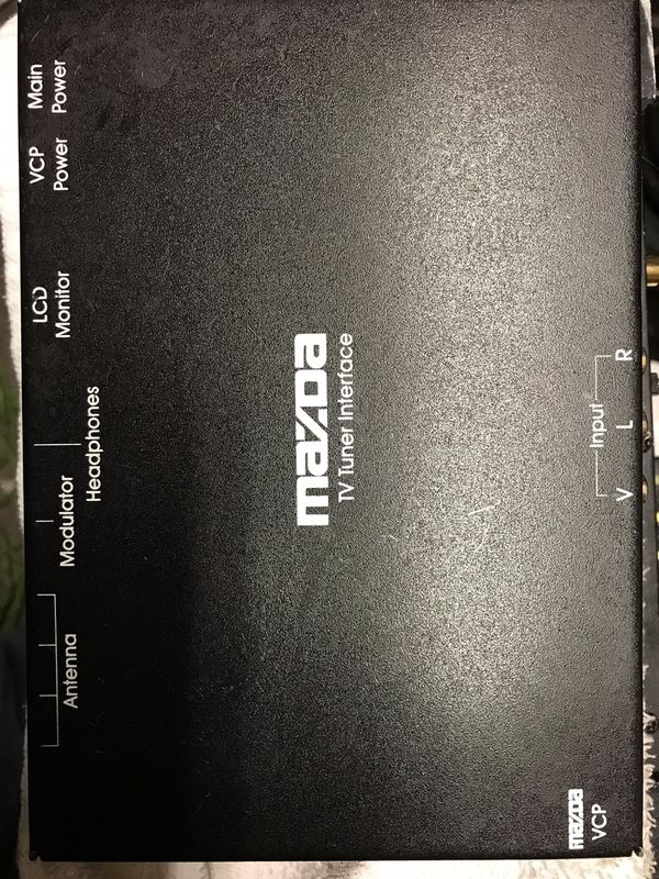 NEW MAZDA TV TUNER INTERFACE MODULE VPC M99299037