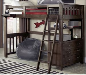 Twin Loft bed - Bunk bed for Sale in St. Cloud, FL