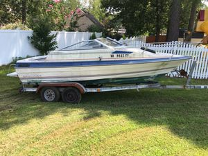 Project boat on dual axle trailer for Sale in Suffolk, VA