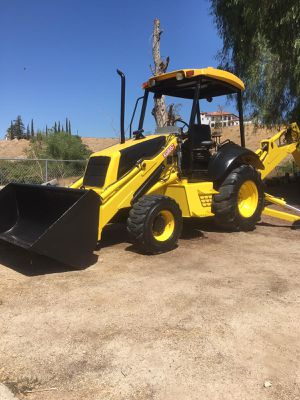 2005 Backhoe Tractor for Sale in Colton, CA