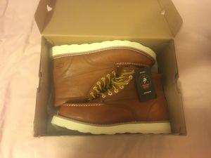 Men's 10.5 Work Boots from Sketchers (memory foam) for Sale in Fresno, CA