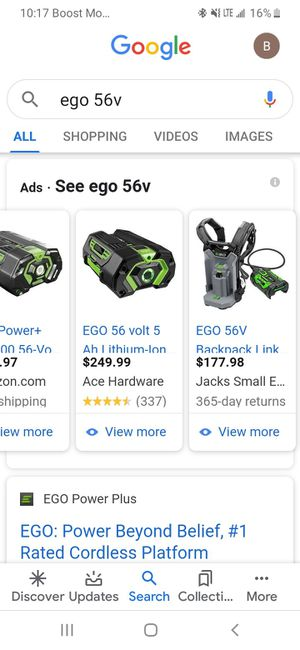 Ego portable generator Bundle for Sale in Albuquerque, NM