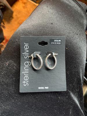 Silver earrings for Sale in Saint Paul, MN
